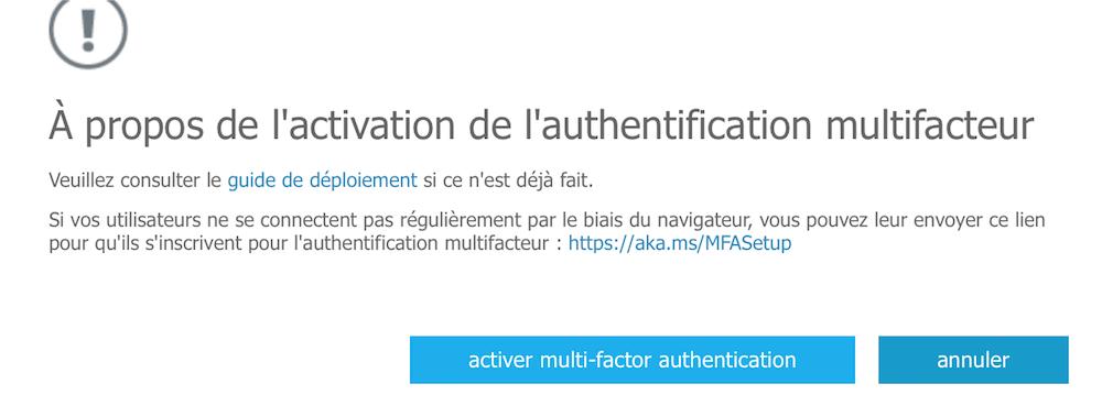 Activer l 39 authentification multifacteur pour les utilisateurs azure active directory - Activer office par telephone ...